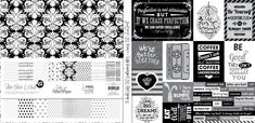 Let's focus on Paper Packs! ⋆ Lady Pattern Paper Scrapbooking Paper