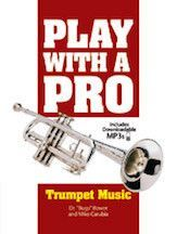 Play with a Pro: Trumpet Music (Book & MP3 Downloads)