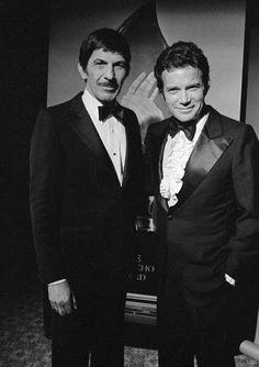 William Shatner and Leonard Nimoy - 1980