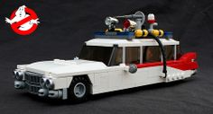 Who ya gonna call? LEGO brickmaster Rocko brings us his latest creation- the great car from Ghostbusters. Fire up the proton packs and get your LEGO Venckman mini-figs out because the Ectomobile is ready to fight Slimer and his crew