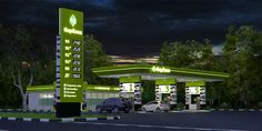 new gas station design - Google Search