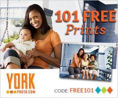 York Photo: 101 Free 46 Prints http://www.lavahotdeals.com/ca/cheap/york-photo-101-free-46-prints/115917