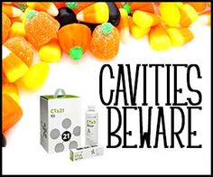 Going to the dentist after Halloween doesn't have to be scary! Dentist recommended CariFree is formulated to fight cavity causing bacteria.