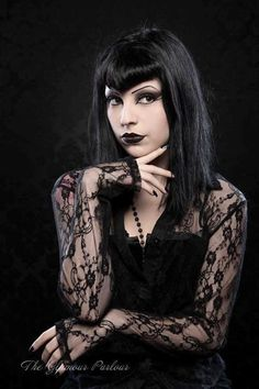Lovely #Goth girl