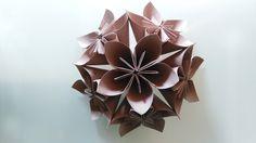 Paper flower kusudama #paper #favini #favinicrush #flower #kusudama