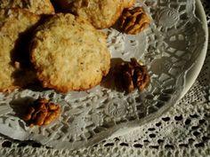 {Coconut Rolled Oats Cookies} - Biscuiti cu nuca de cocos si fulgi de ovaz