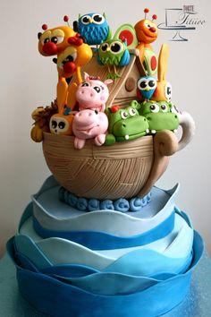 A modern Noah's Ark - Cake by Torte Titiioo