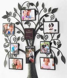 What a gorgeous idea for a family tree! | Spark | eHow.com