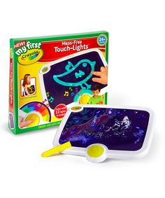 My First Mess-Free Touch-Lights Plus by Crayola #zulily #zulilyfinds
