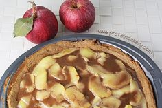 caramel apple protein pie top more protein pies protein recipies pies ...