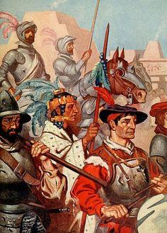 Armas de los conquistadores espanoles