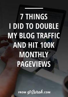 After Years Of Blogging I Finally Hit 100k Monthly Pageviews So Iu0027m Sharing  My
