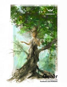 Vanir: Gerðr: Goddess of Earth