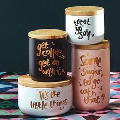 Get your hands on these canisters from Me & My Trend before Xmas cause they won't last much longer. These have been crazy popular -- we couldn't believe it. Check out the whole range here at For Keeps and get all your orders in by Dec 18 to ensure they arrive by Xmas #canister #kitchendecor #kitchencanister #xmasgift #homedecor #forkeepsstore