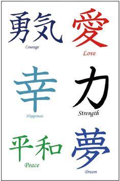 30 Premium Kanji Tattoos: Japanese, Chinese, Asian Characters