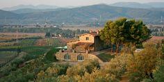 Conti di San Bonifacio: The secluded Conti di San Bonifacio sits atop a hill overlooking the unspoiled Tuscan Maremma.