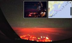 Underwater volcano responsible for mystery glow over the Pacific Ocean?