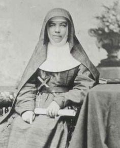 St. Mary MacKillop the first Australian saint.