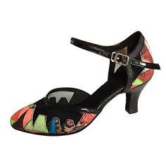 Chaussures de danse(Rouge) -Non Personnalisables-Talon Aiguille-Similicuir-Moderne Salsa de 4874815 2017 à €23.80