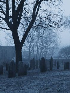 Graveyard in Salem, MA. I've been here, I went when I was 16 on a school trip. Haunted Places, Abandoned Places, Scary Places, Abandoned Buildings, Festival Of The Dead, Salem Mass, Maleficarum, Old Cemeteries, Graveyards