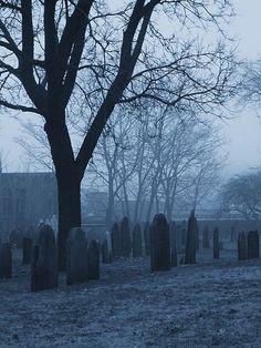 Salem MA Graveyard.  I've always wanted to go to Salem.