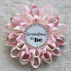 Grandma to Be Pin New Grandma Gift Nana to Be Nana Gift Gramma Grammy Baby Shower Corsage Abuelita Abuela Nonna Mimi Mommy to Be
