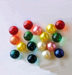 """Vintage Bath Oil Balls! I loved these!! I remember absentmindedly """"chewing"""" on one in a fun shape and it squirt 'soap' in my mouth!"""