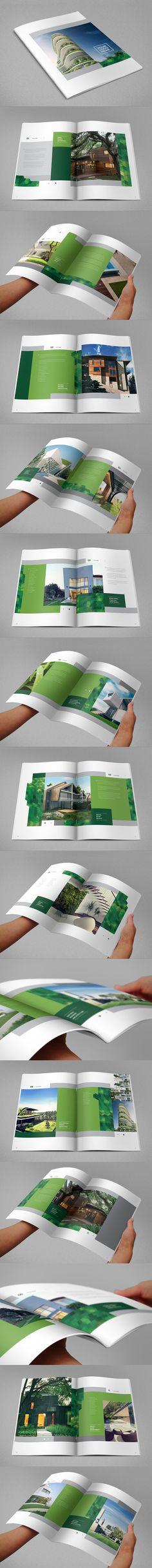Ecologic Real Estate Brochure. Download here: http://graphicriver.net/item/ecologic-real-estate-brochure/8645126?ref=abradesign #design #brochure