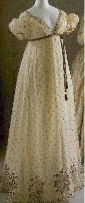 evening dress 1810