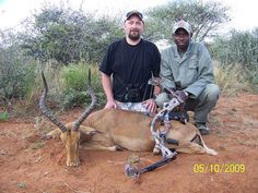 Bow Hunting Impala in South Africa, via Flickr. http://www.flickr.com/photos/bushmen_safaris/4739198524/#