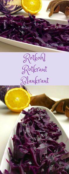 Das beste Rezept für Rotkohl #Rotkohl #Rezept #Blaukraut