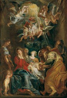 Die Beschneidung Christi, Peter Paul Rubens 1605