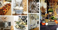 Farmhouse fall decorating ideas soon come into play. We have ideas that are sure to give you some inspiration. Find the best designs!