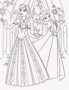 Disney Frozen Coloring Sheets Check Out This Beautiful Disney