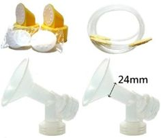 Breast Pump Kit/Replacement Parts for Medela Lactina and Symphony Breastpumps. Include 2 One-Piece Breastshields (Replace Medela Personalfit 24mm), 2 Lactina Tubing (Symphony Tubing), 2 Valves and 4 Membranes. Replace Medela Breastshield, Valve, Membrane, and Tubing. -   - http://babyentry.com/baby/breast-pump-kitreplacement-parts-for-medela-lactina-and-symphony-breastpumps-include-2-onepiece-breastshields-replace-medela-personalfit-24mm-2-lactina-tubing-symphony-tubing-2-val