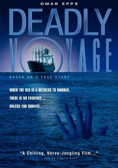 DEADLY VOYAGE tells the true story of Kingsley Ofosu, the sole survivor of a group of nine Ghanaian stowaways who hoped to make it to Europe to make a better life for them and their family. They are discovered aboard the Russian cargo ship, MC Ruby, in 1992 and subsequently murdered by that ship's Ukrainian crew. (1996) // This film messed me up. Deplorable, unforgettable and unforgivable. Spoiler or not, the crew cried when the damn dog died but cheered after killing the 8 Ghanaian men....