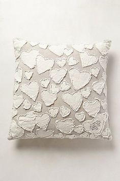 Anthropologie Heart Collector Pillow from anthropologie.com