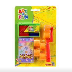 Simba Toys > 3y+ > Art and Fun 2 Way Roller Stamp Set - Red | Shop Online