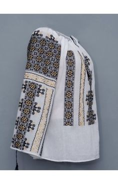 handmade Romanian blouses for sale in NY Peasant Blouse, Embroidered Blouse, Blouses, Hands, Handmade, Style, Swag, Hand Made, Blouse