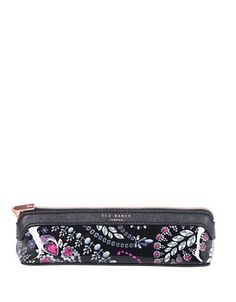 TED BAKER Ted Baker London Treasured Trinkets Pencil Case. #tedbaker #bags #lining #pvc #polyester #