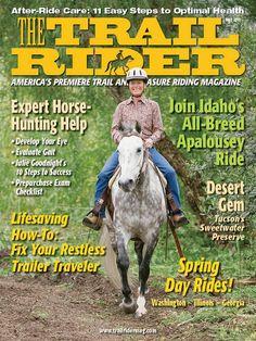 Love this shot of the Troxel Dakota Trail helmet on the cover of The Trail Rider Magazine http://www.troxelhelmets.com/products/dakota