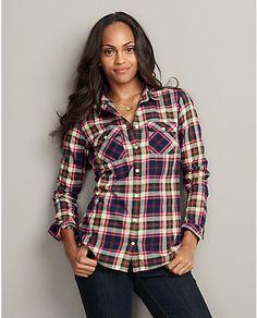 Flannel Utility Shirt | Eddie Bauer