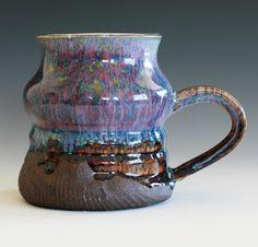 Coffee Mug handmade ceramic mug holds 18 oz ceramic by ocpottery, $23.00