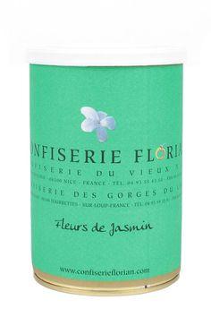 confiserie florian - confit de fleurs de jasmin 250g