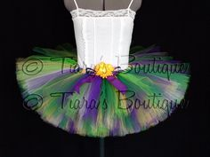 Mardi Gras Tutu  Bright Spring Mix Tutu  Adult Teen by TiarasTutus, $55.00