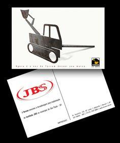 Cartão da Terram para a Friboi, JBS.
