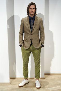 J.Crew Men's RTW Spring 2013 - moss green pants color