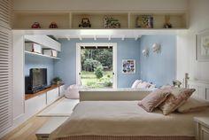 Detalhes rústicos em uma casa renovada. Veja:  http://casadevalentina.com.br/projetos/detalhes/detalhes-rustico,-casa-renovada-594 #decor #decoracao #interior #design #casa #home #house #idea #ideia #detalhes #details #style #estilo #rustic #rustico #casadevalentina #bedroom #quarto #kids