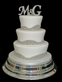 'Bling' Wedding Cake | Flickr - Photo Sharing!