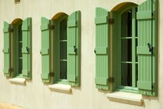 Roses and Rust: French farmhouse style shutters